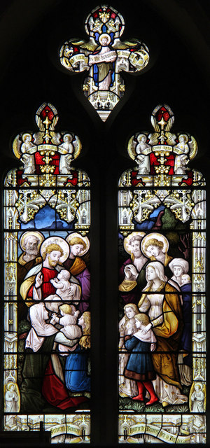 St Mary, Linton - Stained glass window
