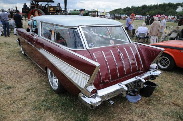 Chevrolet at Welland Steam Rally
