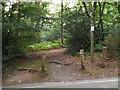 TQ4164 : Permissive bridleway on Keston Common by Malc McDonald