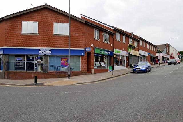 Shops on Blackburn Street