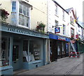 SO5012 : Cotton Angel and Nationwide, Church Street, Monmouth by Jaggery