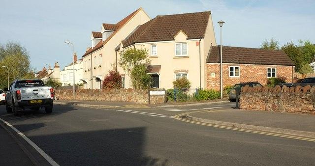 Junction, Weston Road, Long Ashton