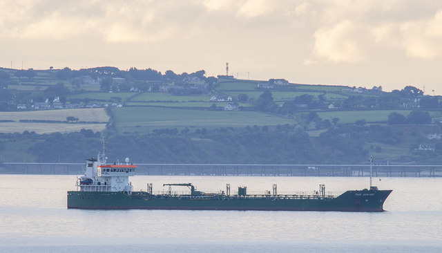 The 'Thun Garland' off Bangor