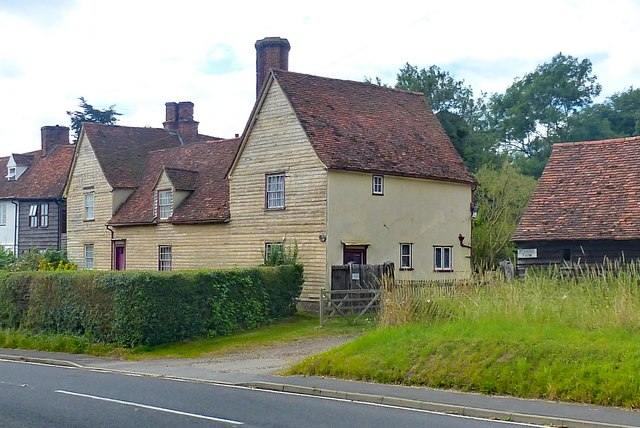 Farmhouse at Fisher's Farm, Colliers End