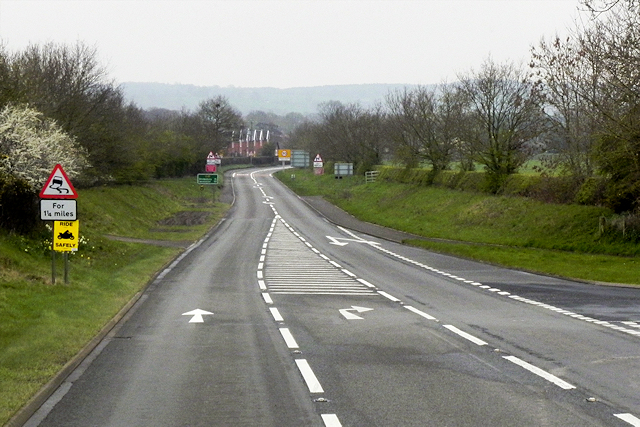 Southbound A49 near to Prees