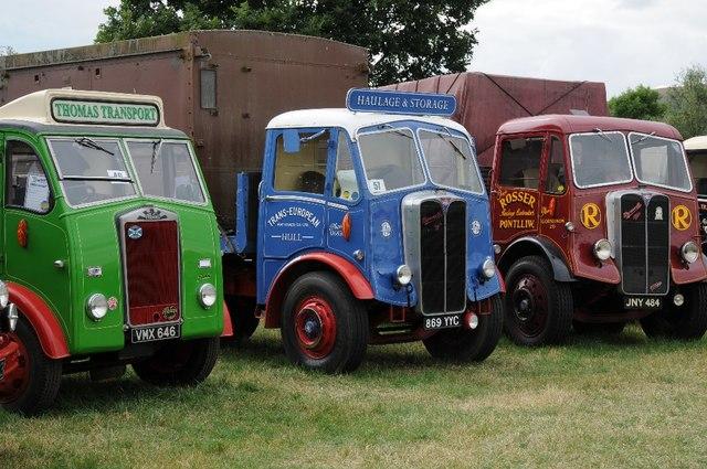 Vintage lorries, Welland Steam Rally