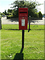TM0587 : Grove Corner Postbox by Adrian Cable