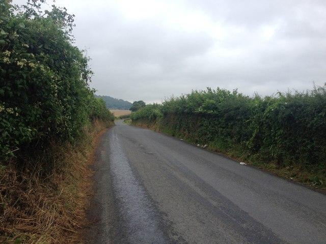 Kemsing Road, near Wrotham