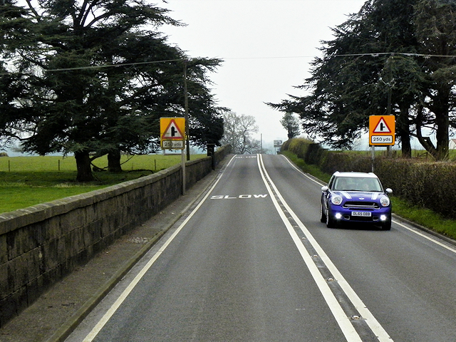 A49 at Acton Reynald
