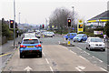 SJ5014 : Morrisons Traffic Lights, Whitchurch Road by David Dixon
