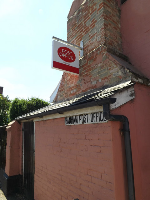 Banham Post Office signs