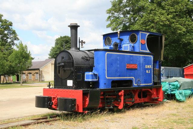Royal Gunpowder Factory Waltham Abbey - locomotive