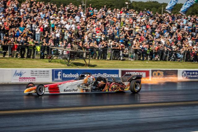 Santa Pod Drag Racing
