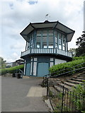 TQ3473 : The Bandstand, Horniman Museum Gardens, Forest Hill by pam fray