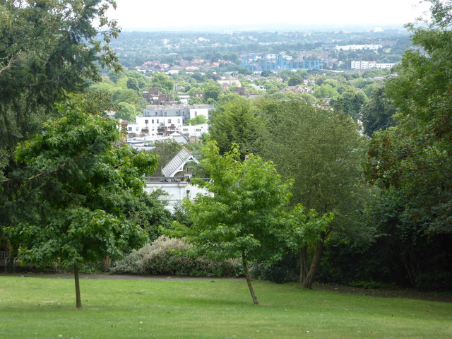 View from Horniman Museum Gardens, Forest Hill