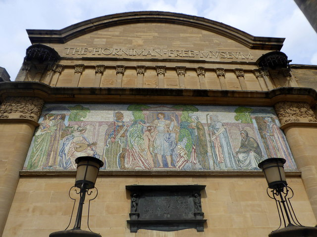 The front of Horniman Museum, Forest Hill