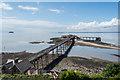 ST3062 : Birnbeck Pier by Oliver Mills