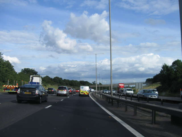 M25 southbound