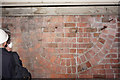 TA0928 : Brickwork at Paragon Train Station by Ian S