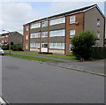ST1671 : Three-storey block of flats, Castle Drive, Dinas Powys by Jaggery