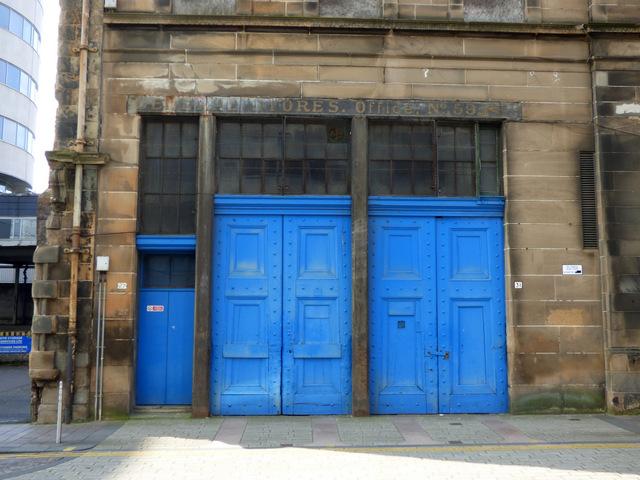 James Watt Street tobacco warehouse