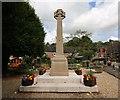 SK0544 : Oakamoor War Memorial, Staffordshire by Alf Beard