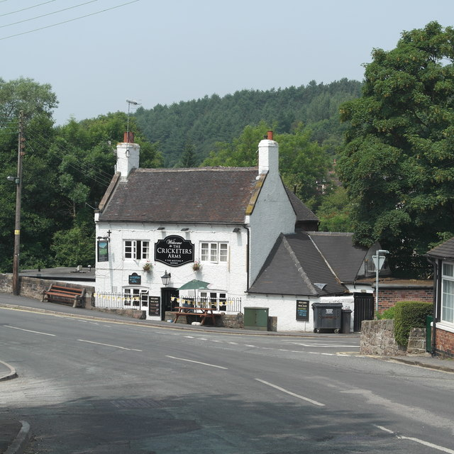 The Cricketers Arms, Oakamoor, Staffordshire