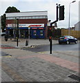 ST1775 : Pelican crossing to Tesco Express, Grangetown, Cardiff by Jaggery