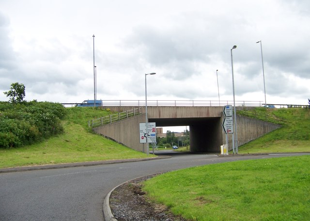 Bridge under the A726