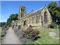 NZ2079 : Stannington Parish Church by Graham Robson