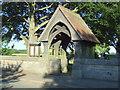 TA0656 : Lych gate, St Mary's Church, Wansford by JThomas