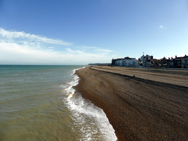 Looking West from Deal Pier