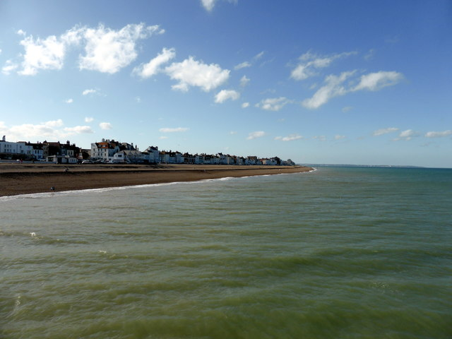 Looking East from Deal Pier