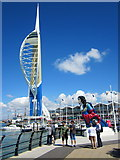 SZ6299 : Spinnaker Tower Gunwharf Quays Portsmouth by Roy Hughes