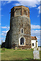 TF6602 : St Andrew's Church, round tower by Tiger