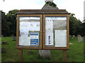 TM0474 : St.Mary's Rickinghall Superior Church Notice Board by Adrian Cable