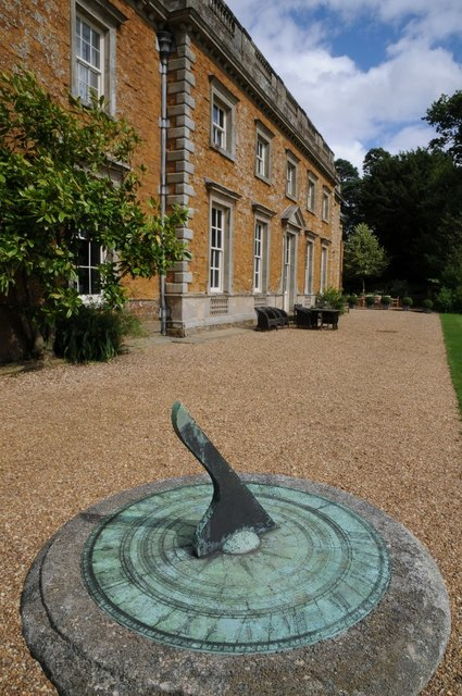 Sundial at Farnborough Hall
