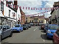 SO8540 : Union Jack bunting by Philip Halling