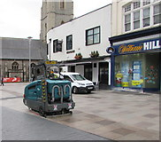 ST1876 : Cleaning up in Cardiff city centre by Jaggery