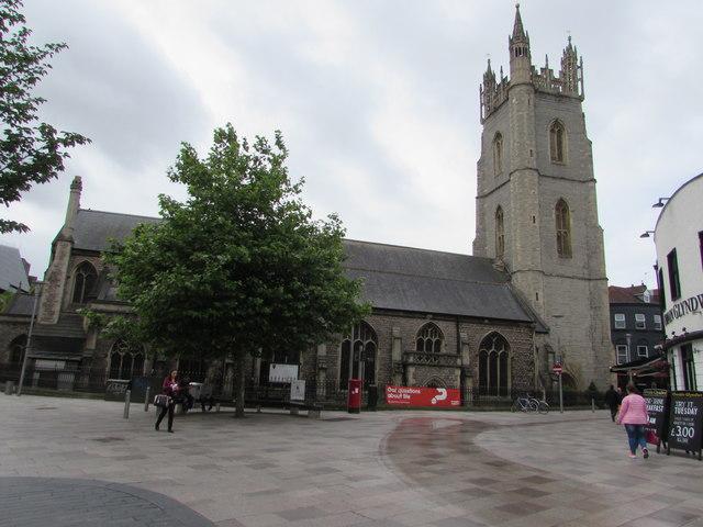 Grade I listed St John the Baptist church, Cardiff
