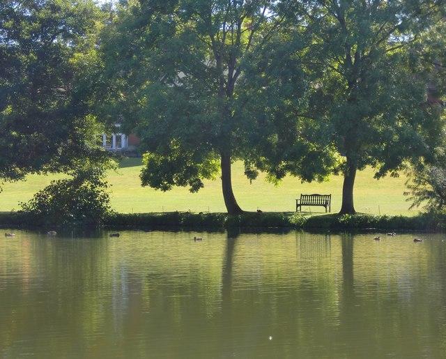 A riverside scene at Goring