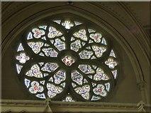 ST5071 : The west window, Tyntesfield chapel by David Smith