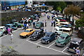 SH7877 : Morris Minor rally at Conwy Station by David Martin