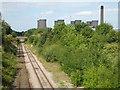 SE5623 : Railway to Eggborough Power Station by Chris Allen