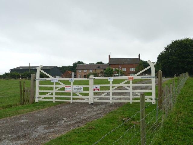 Gateway to Readyfield Farm