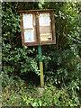 TM0173 : Wattisfield Village Notice Board by Adrian Cable