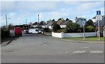 SM9310 : Eastern end of Bulford Road, Johnston by Jaggery