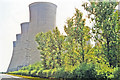 SE5724 : Cooling towers of Eggborough Power Station, 1995 by Ben Brooksbank