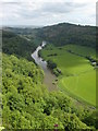 SO5616 : River  Wye  from  Symonds  Yat  rock by Martin Dawes