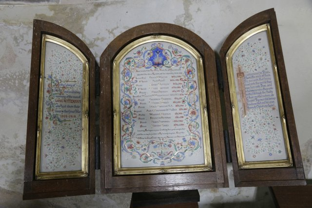 Long Wittenham Roll of Honour